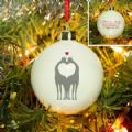 Animal Silhouette Bauble